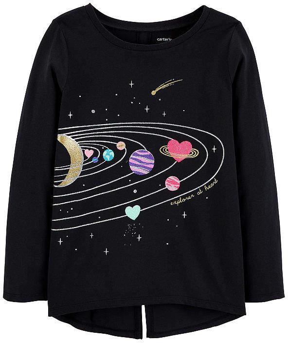 a638858c1 Carter s Graphic T-Shirt-Preschool Girls Graphic T-Shirt-Preschool ...