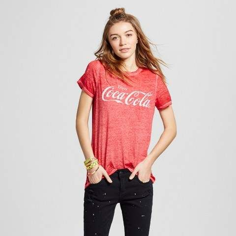 a1a08a0f63 Coca-Cola Women s Coca-Cola® Graphic T-Shirt (Juniors ) - Red  fashion   style  love  shopping afflink