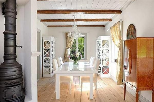The Elegance Of Scandinavian Country Style Interior Design Interior Design Ideas Country Style Interiors Country Interior Design Dining Room Interiors