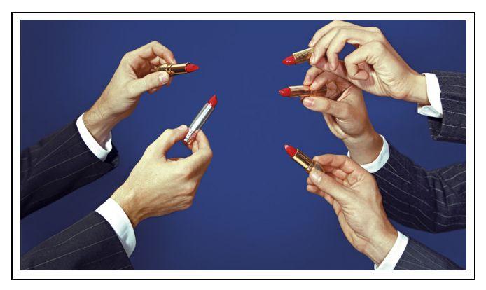 #poder #femenino #red #labial #woman #ejecutivos #oficina