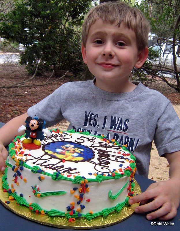 BIrthday Party at Disney World for a DFB Reader Disney