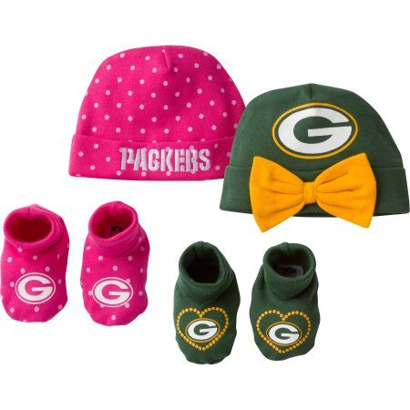 NFL Green Bay Packers Baby Girls Accessory Set ea40c5e50