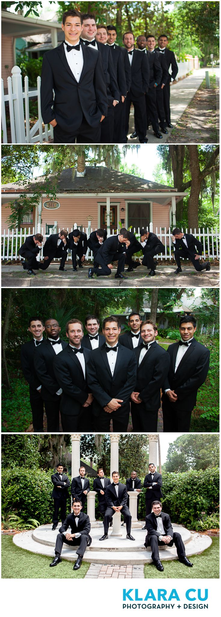 Formal Portrait Of Groomsmen At The Sweetwater Branch Inn In Gainesville Fl Klara Cu Photograph With Images Amazing Wedding Photos Bride Photoshoot Wedding Party Photos