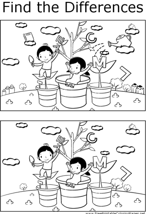 Teachers can use this printable coloring page to help students