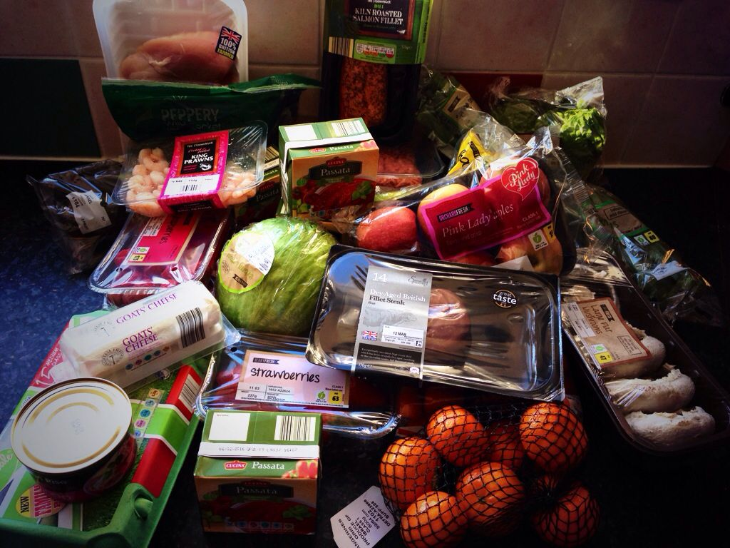 clean shopping all done from aldi juice plus on a budget