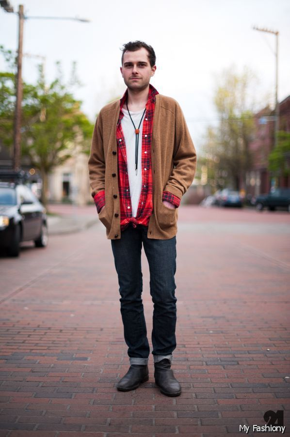 Outfit Men Hipster