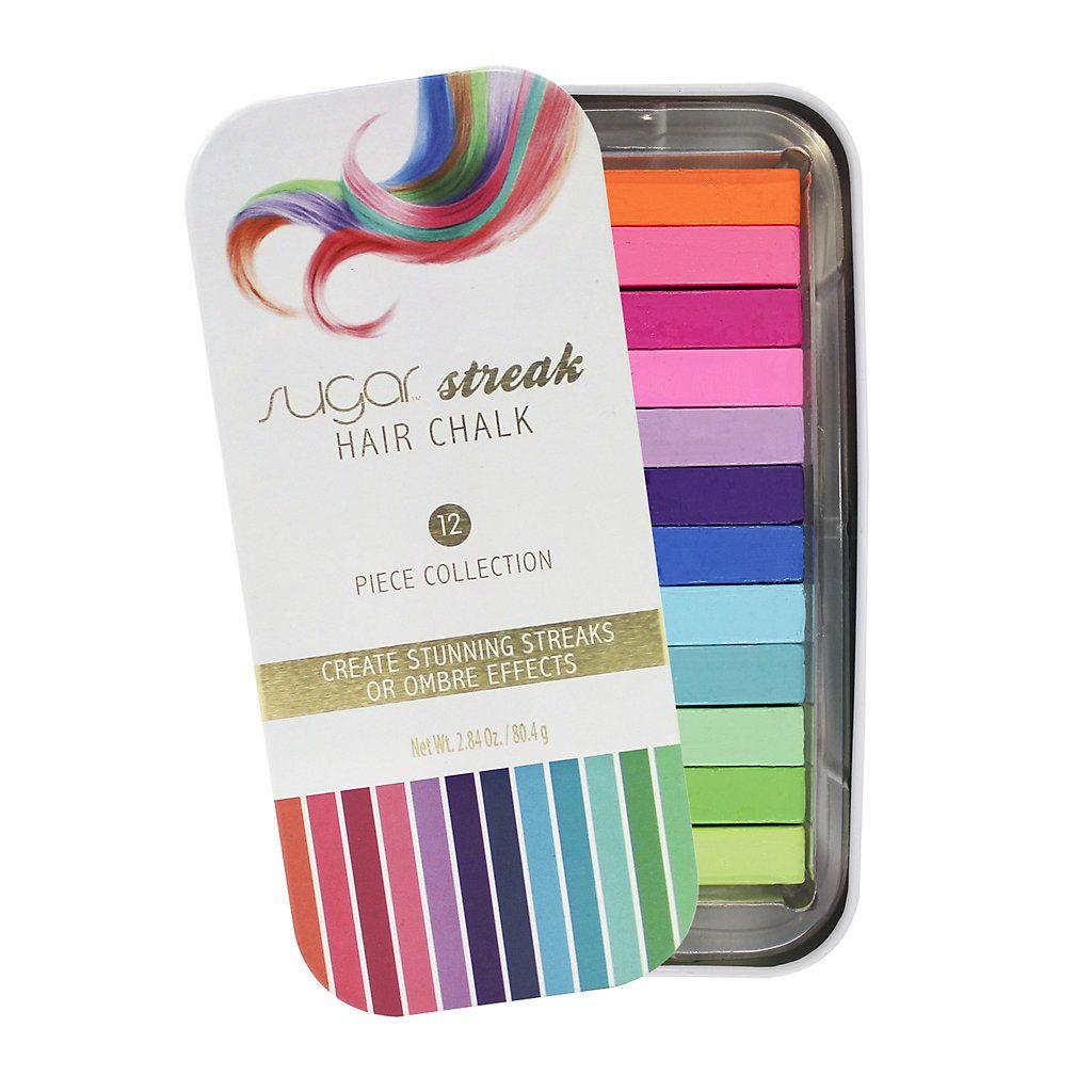 Sugar streak hair chalk gift ideas pinterest hair chalk and