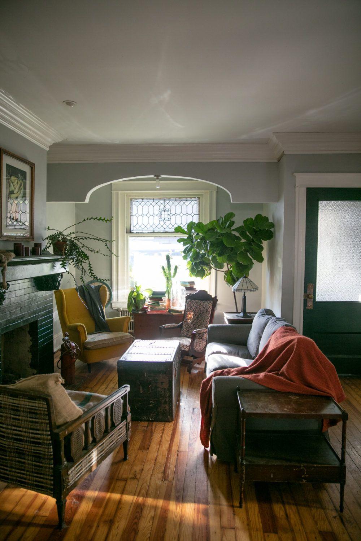 In Philadelphia A Victorian Home With An Urban Farm House