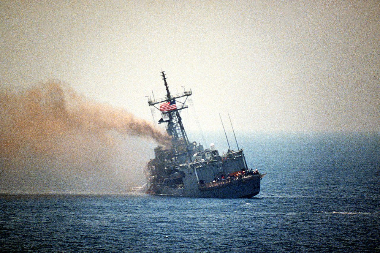USS Stark - Oliver Hazard Perry-class frigate - Wikipedia, the free encyclopedia