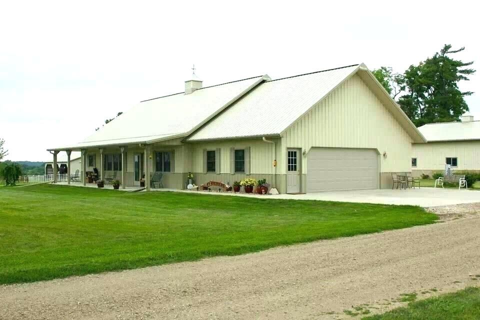 Pole Barn Houses House Cost Cool Per Sq Ft Metal For Sale In Ky