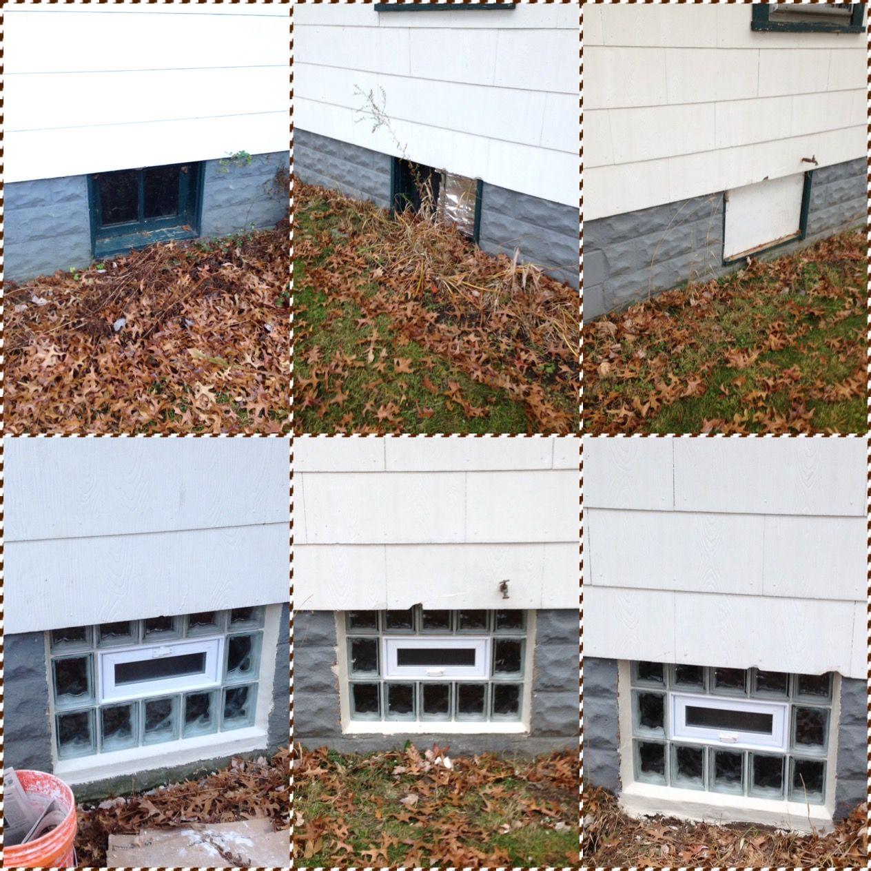 Job in Norton I did. No basement, just a crawl space. Vents open ...
