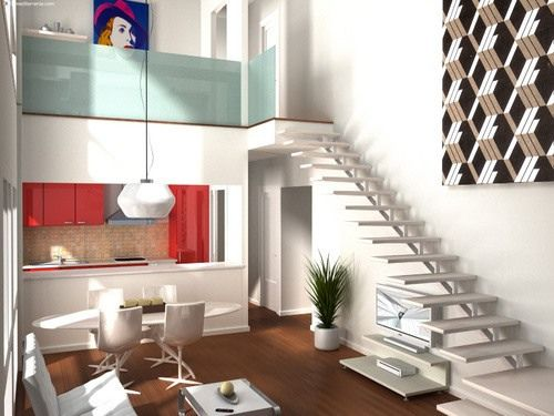 Planos de loft economicos buscar con google planos de for Decoracion de casas economicas
