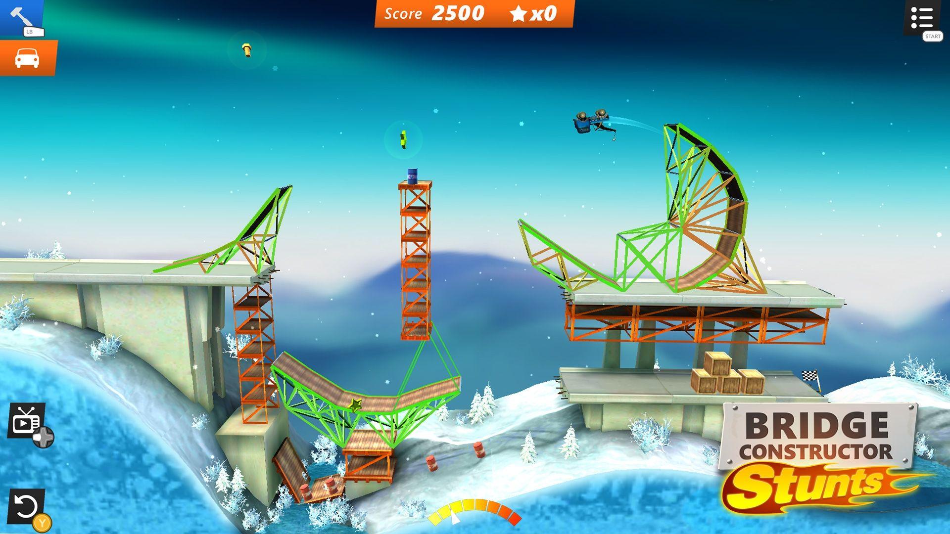 Bridge constructor stunts xbox one release date announced