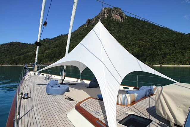 SY Sassafras Awning by The Boat Cover Company Ltd Auckland New Zealand.  : boat canopies melbourne - memphite.com