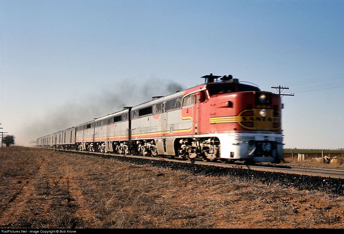 Image result for ATSF PA locomotive