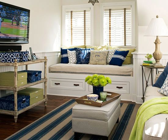 5 Ways to Make a Small Living Room Look Bigger | Open living area ...