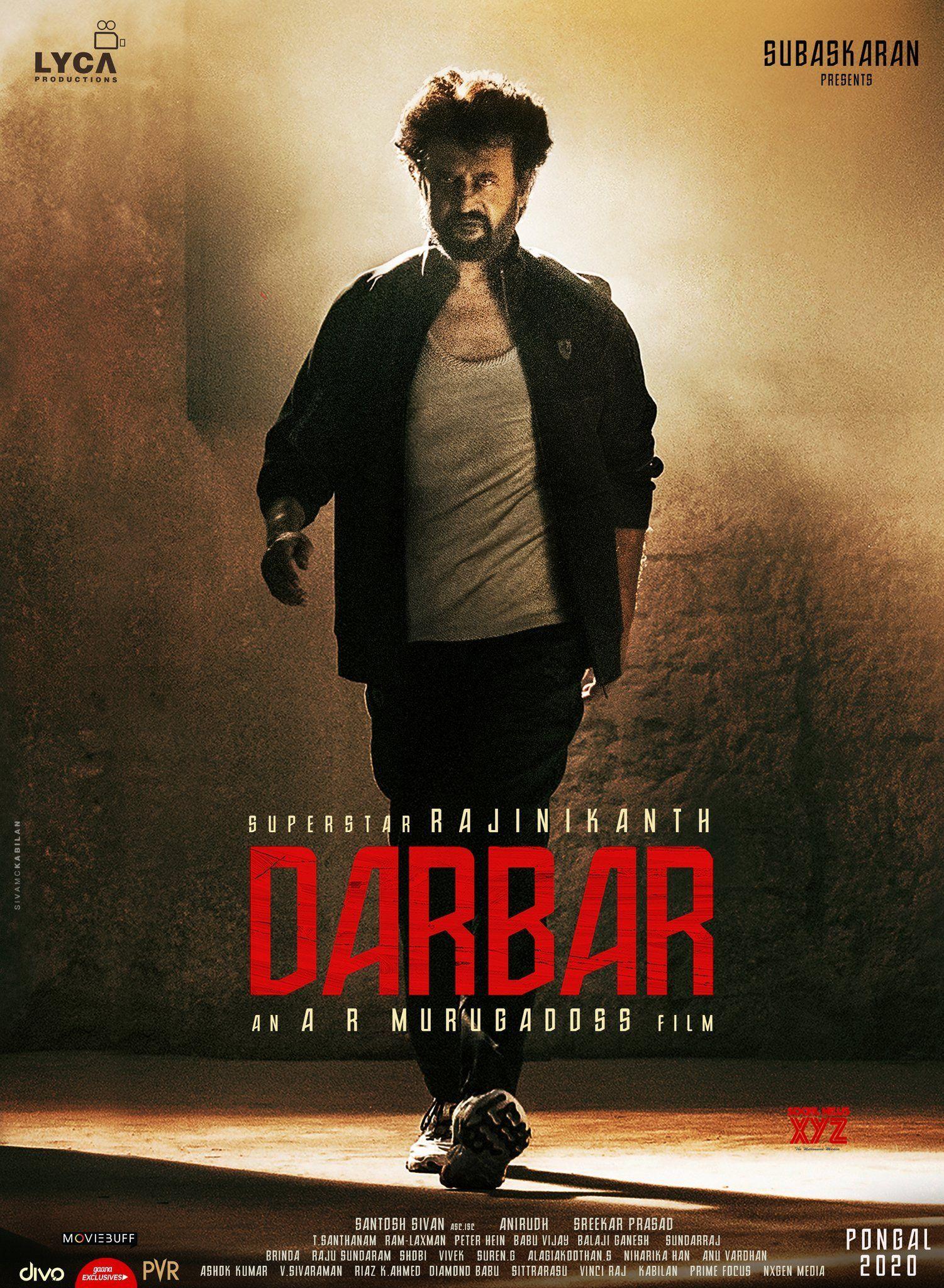 Superstar Rajinikanth S Darbar Movie Releasing For Pongal 2020 Posters Superstarrajinikanth Darbar Best New Movies Comedy Films Hd Movies Download