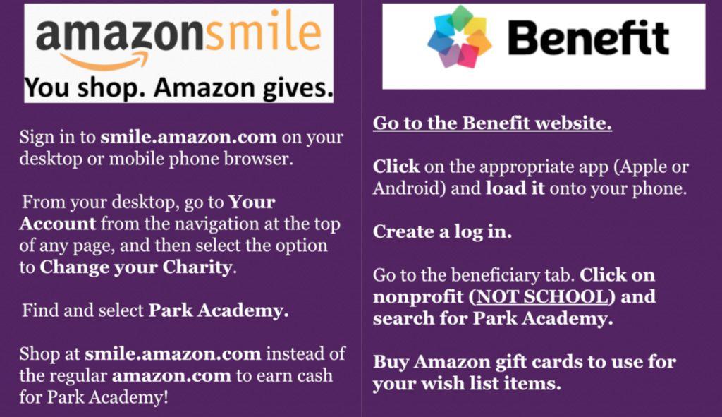 Park Academy Teacher Wish List With Amazon Smile Teacher Wish