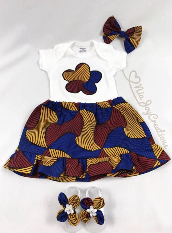 d96b6811ddb02 Vêtements enfants africains: Jess ensemble jupe Anne | Tiny Humans ...