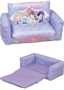 Disney Princess Inflatable Toddler Sofa Bed Transforms From A Chair To Roximate