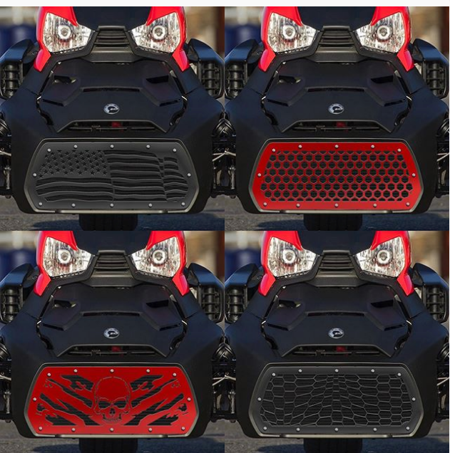 can am ryker custom grilles can am