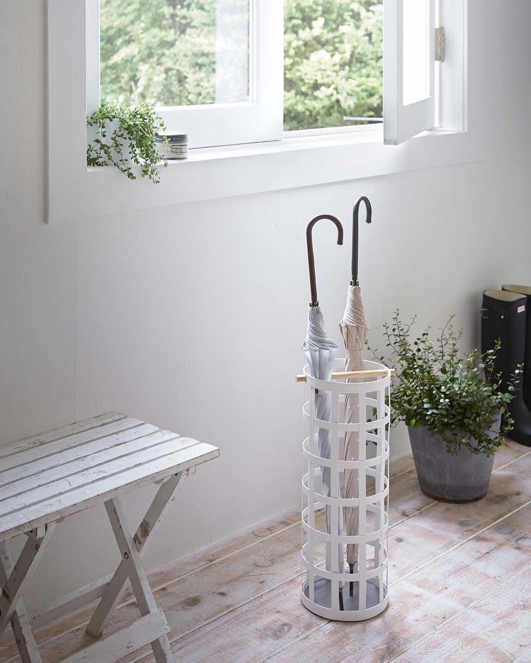 Scandinavian Interiordesign Colors:  Scandinavian Taste Umbrella Stand! #yamazakihome #yamazaki