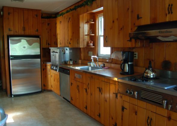 1950s Knotty Pine Kitchen Knotty Pine Kitchens Knotty