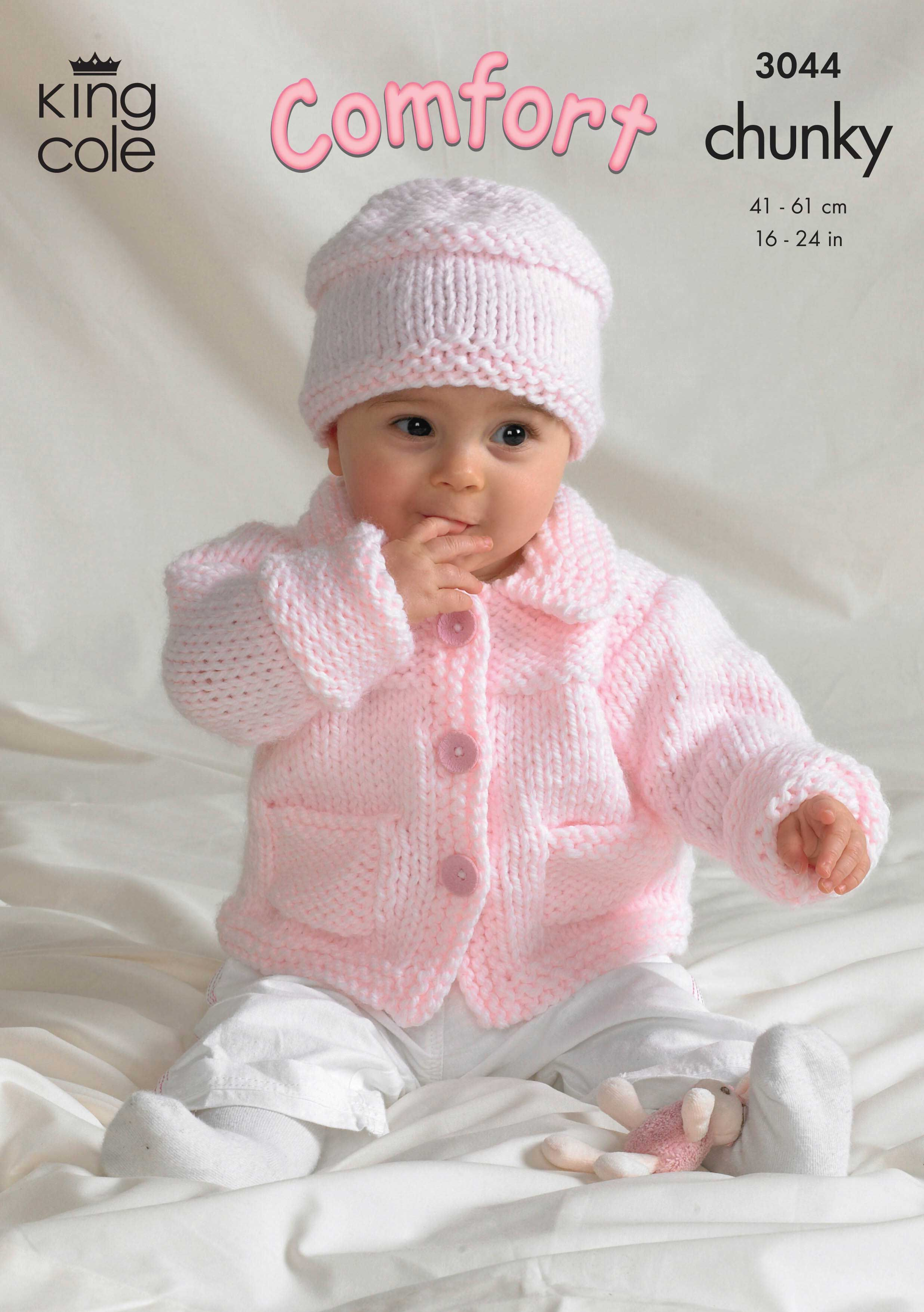 Jacket, Sweater, Crossover Cardigan and Hat Knitted in Comfort ...