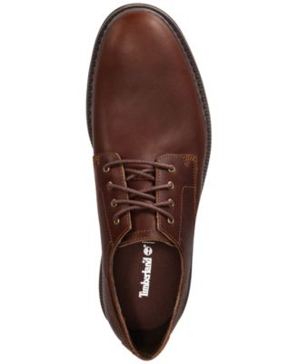 Timberland Men s Naples Trail Full-Grain Leather Oxfords - Brown 9 ... 7fd4768aa81