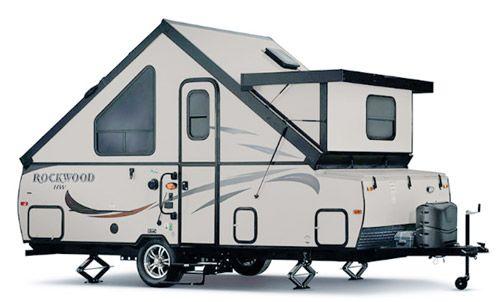 Rockwood A214 HW A-frame travel trailer (Top A-Frame Travel-Trailers ...