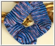 Strickparadies - Merino-kuschelweiche Socken.UNIKAT!