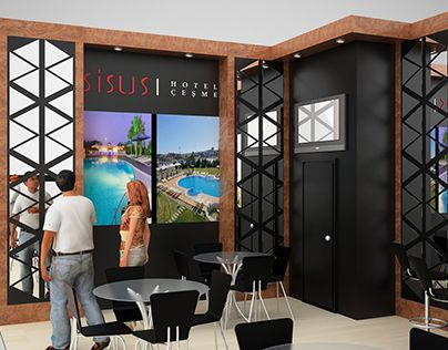 Sisus Hotel Travel Turkey Exhibition Stand Design