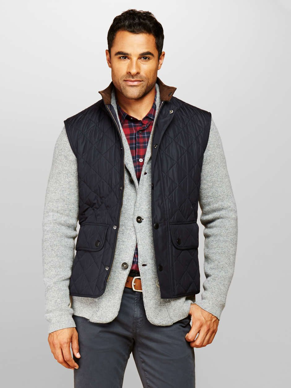Mens-fall-quilted-vest | Tyler John | Pinterest | Fall quilts and ... : quilted mens vest - Adamdwight.com