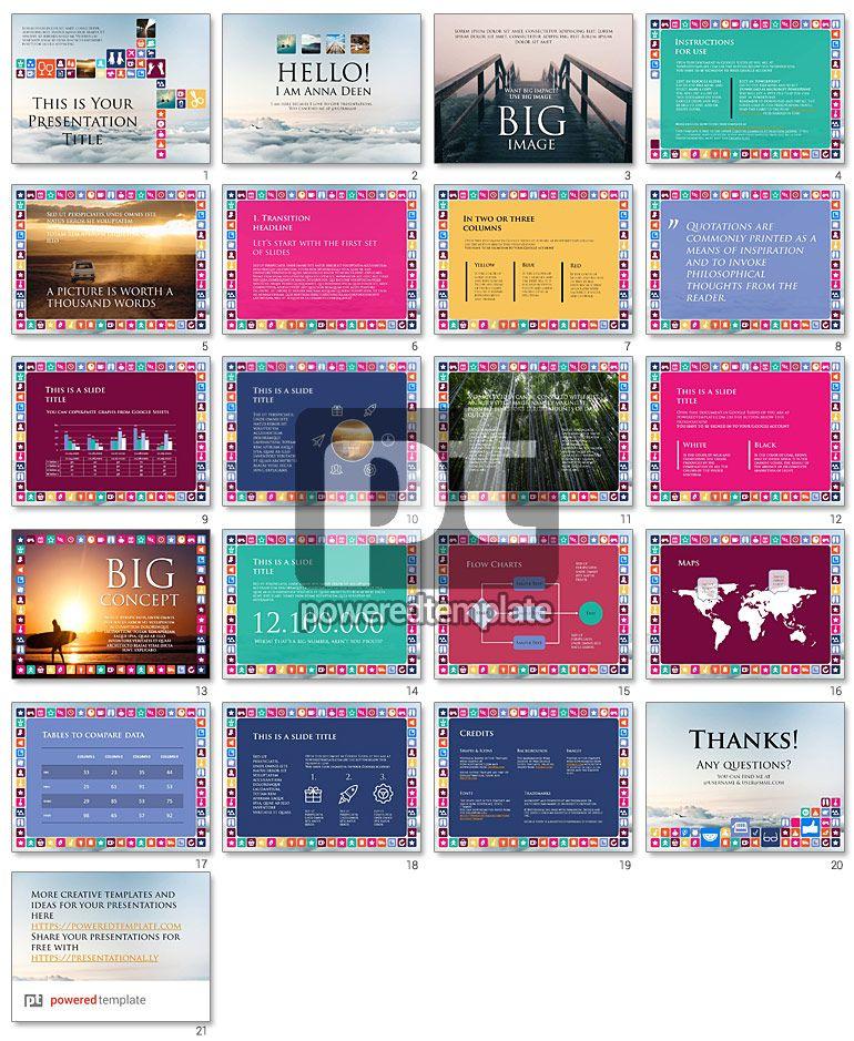 Iconic Free Google Slides Presentation Theme   FREE