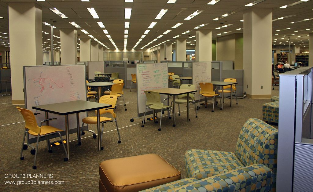 Draughon Learning Commons Auburn University Learning Spaces