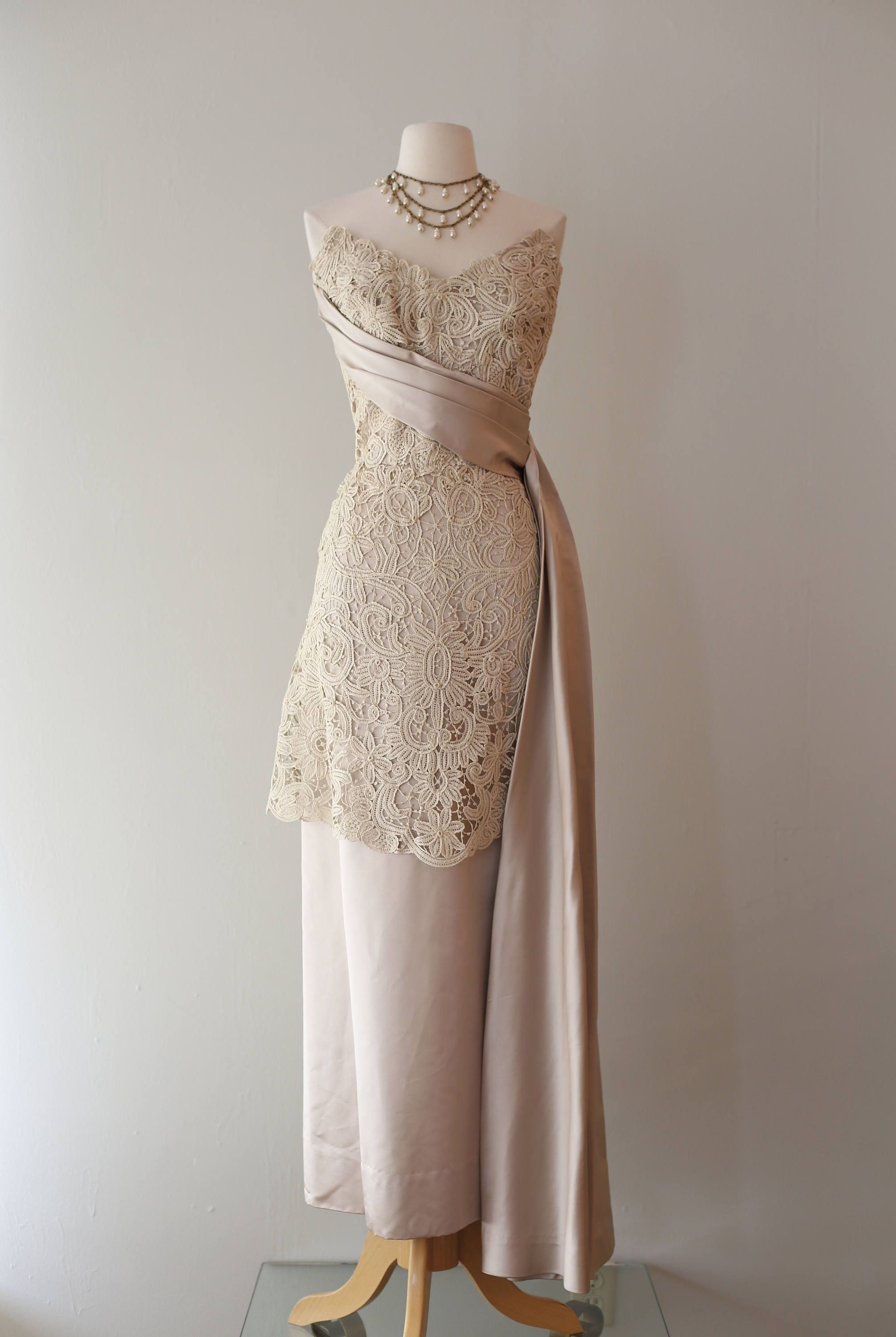 Vintage1950s Couture Evening Gowns