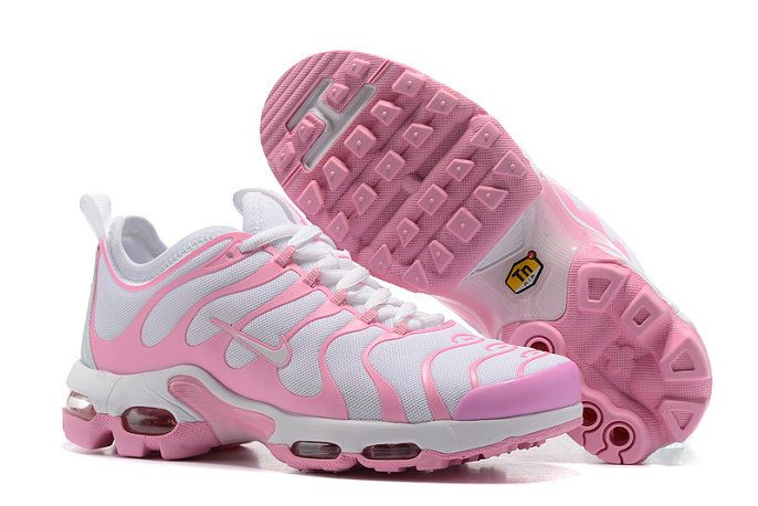 Original Nike Air Max Plus Tn Ultra 830768 552 WoLight White Pink Running Shoe