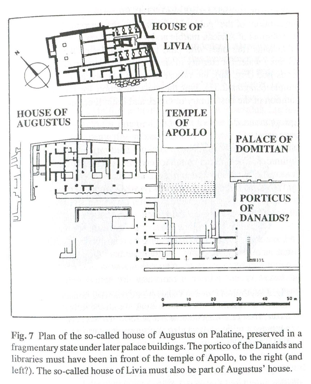 small resolution of plan of house of augustus on the palatine roman history roman art ancient romans