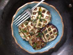 come-se: Berinjela na waffle maker