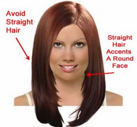 Hairstyles For Long Hair And Round Faces Straight Hairstyles Round Face Haircuts Hairstyles For Round Faces