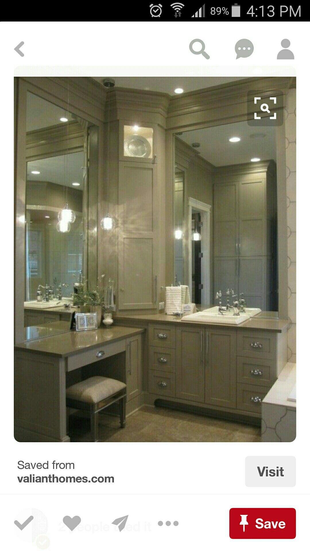 Mirror To Ceiling Love The Vanity