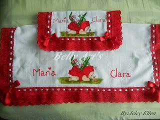 Belly Art's: Jogo de Fralda Joaninha!!