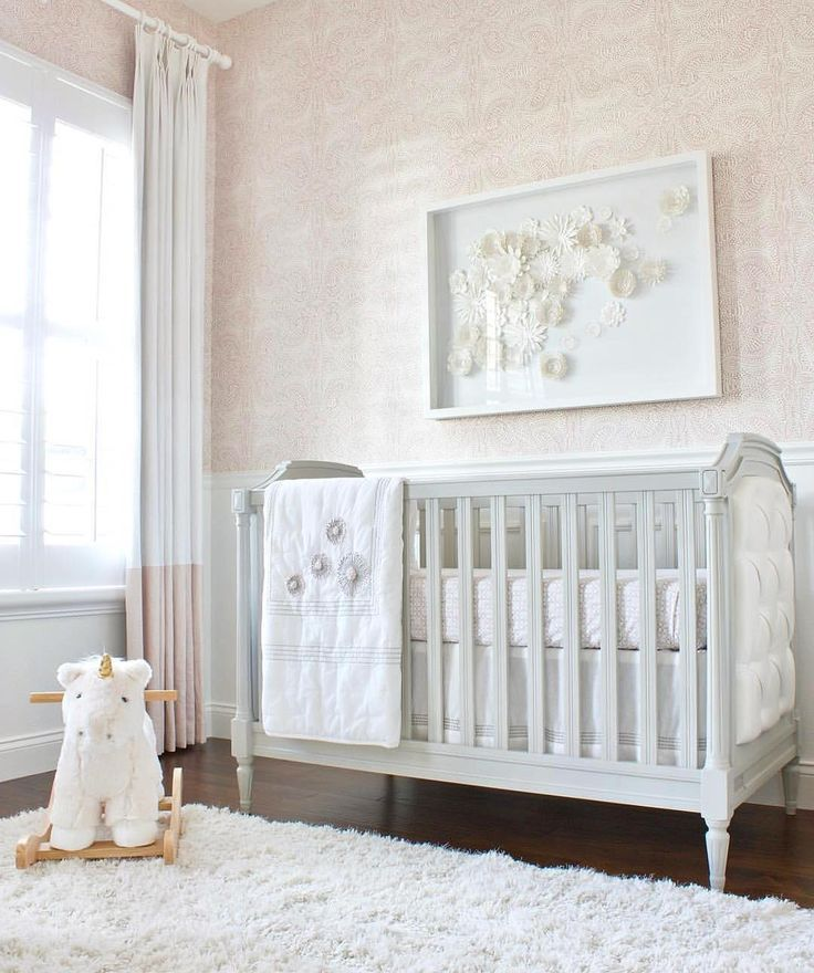 Little Leo S Nursery Fit For A King: 'Andaza' Wallpaper In Blush From Hygge & West