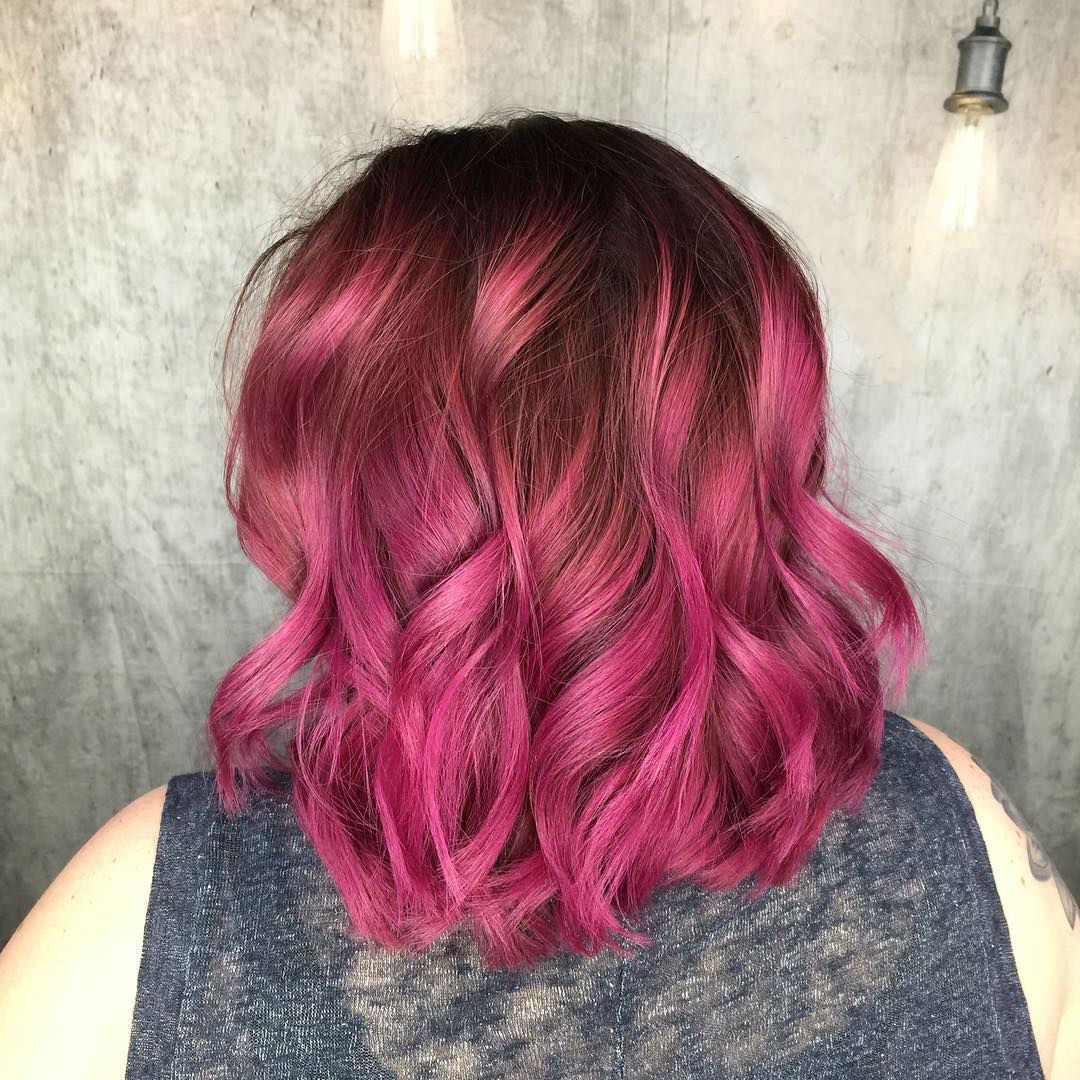 Awesome 25 Iconic Magenta Hair Color Ideas Bright And Sexy