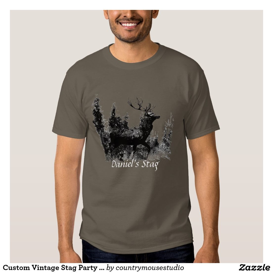 Custom Vintage Stag Party Bachelor Party Shirt Bachelor Party