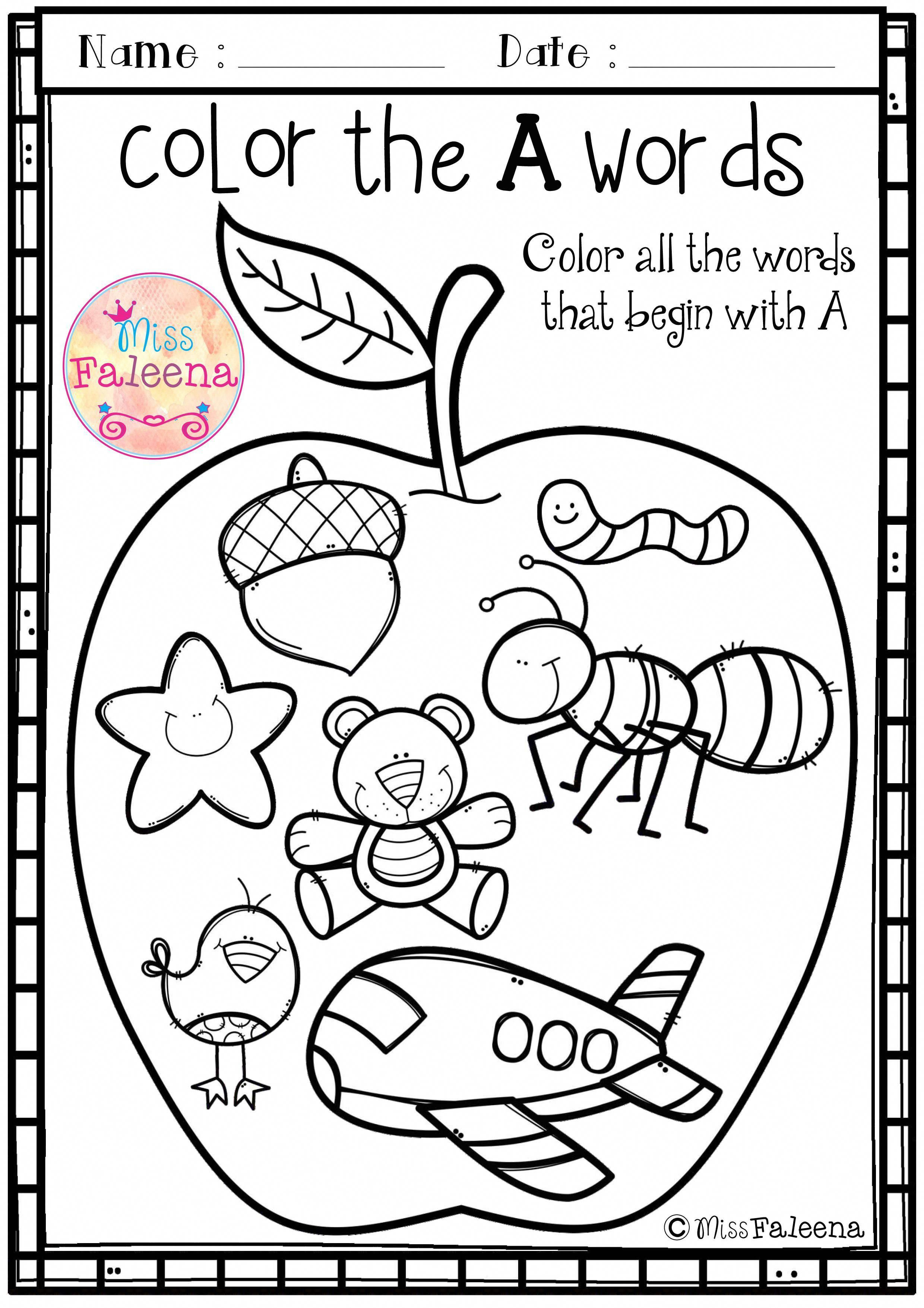 Free Alphabet Letter Of The Week Is Designed To Help Teach