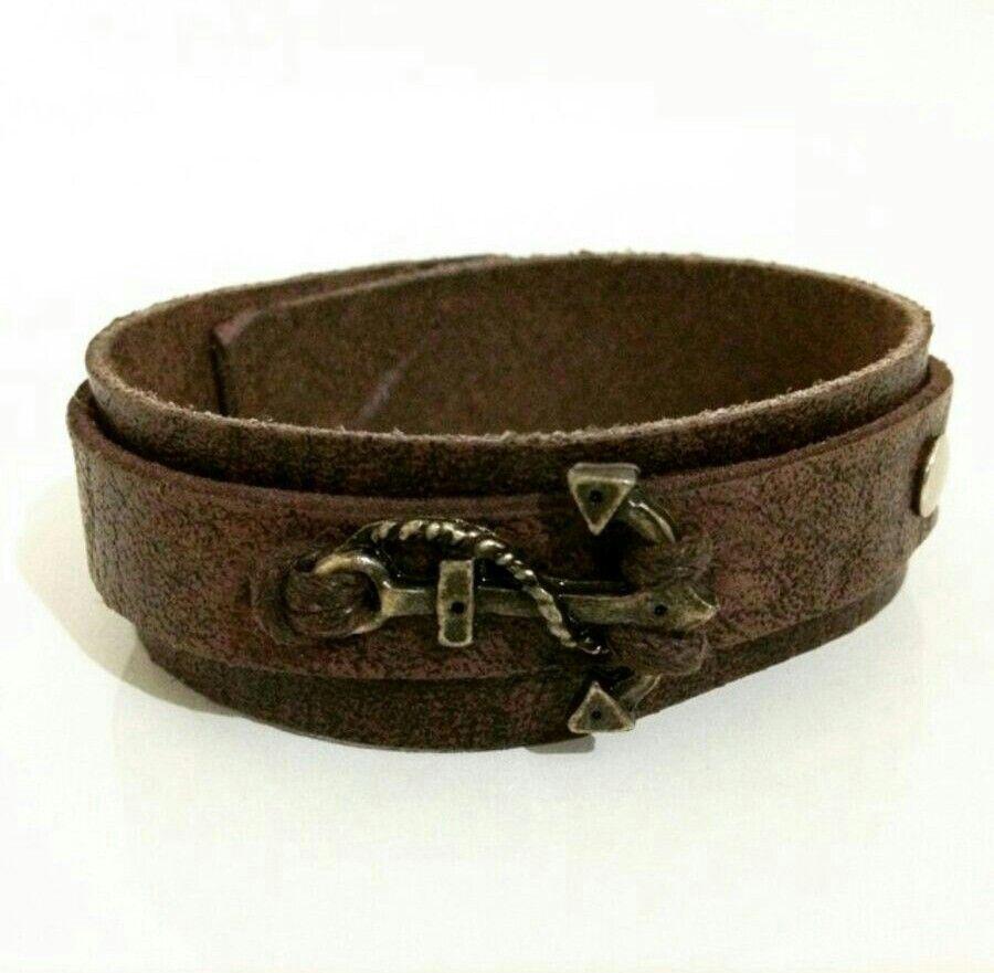 Bracelete vitoriano âncora pulseiraseafins pulseiras