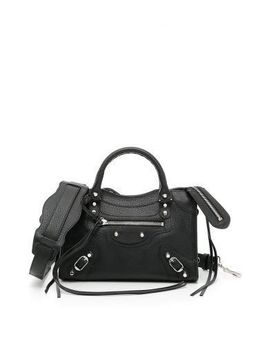 a3870c12ba48 BALENCIAGA Mini City Bag.  balenciaga  bags  shoulder bags  hand bags   leather  lining