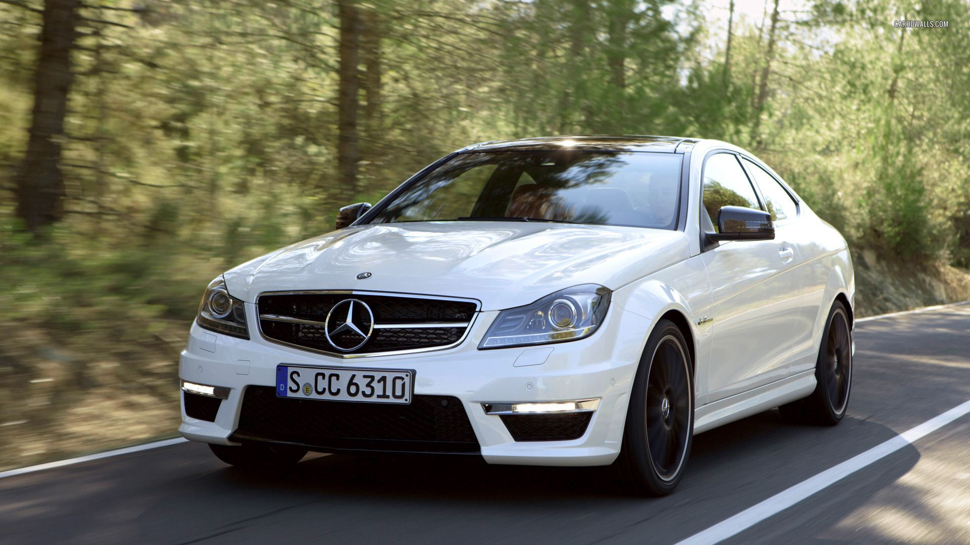 Mercedes Benz C Class C 63 Amg Coupe 2012 Mercedes Benz With