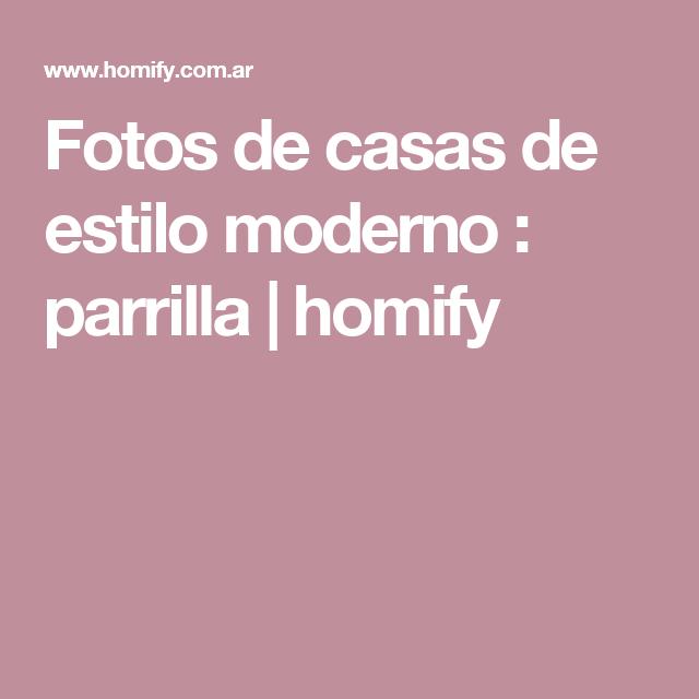 Fotos de casas de estilo moderno : parrilla | homify
